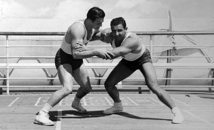 تاریخچه ورزش کشتی