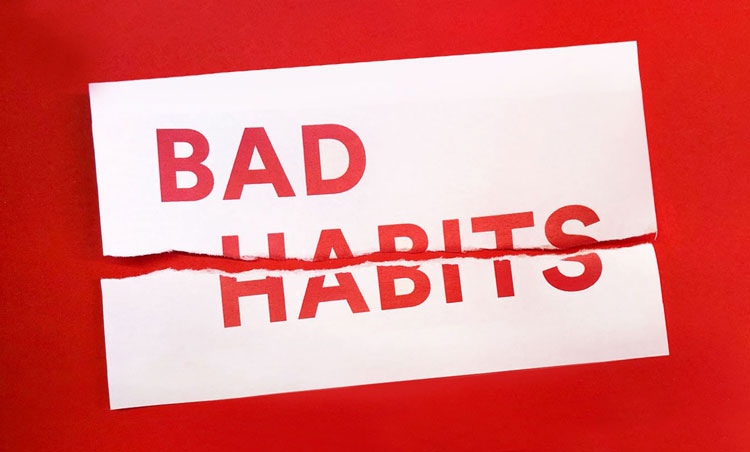 عادتهای بد
