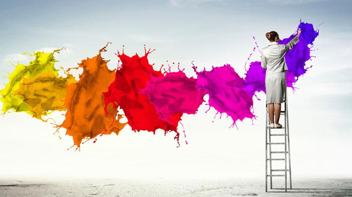 کاربرد رنگ در دنیای تبلیغات