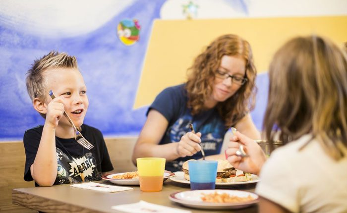 غذای کودکان در تعطیلات