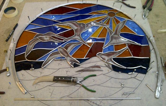 هنر همجوشی شیشه