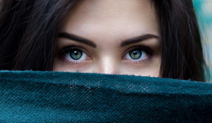 چشمهای سبز