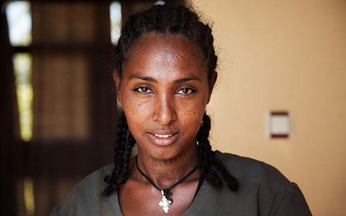 زن زیبای اتیوپیایی