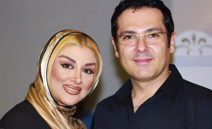 کورش تهامی و همسرش پونه یزدانی