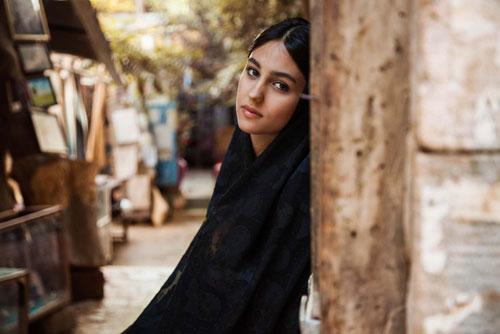 دختر زیبای شیرازی در اطلس زیبایی زنان دنیا