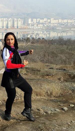 خانم سودابه صبور قهرمان پرورش اندام زنان