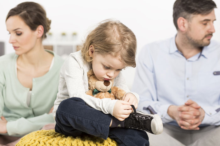 در میان گذاشتن طلاق با فرزندان