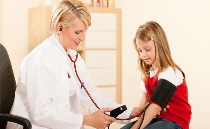 فشار خون در کودکان