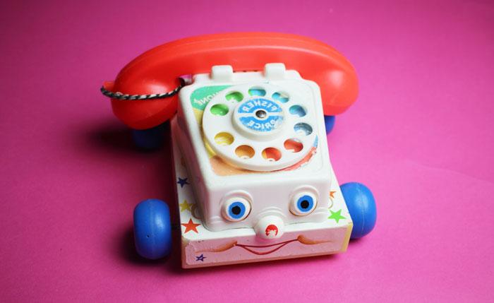 تا تلفن صدا کرد