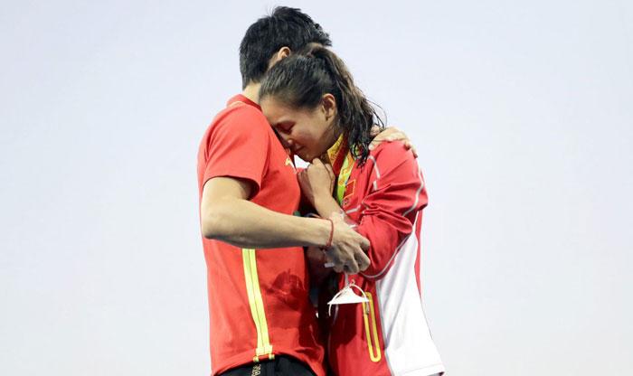 خواستگاری روی سکوی مدالهای المپیک