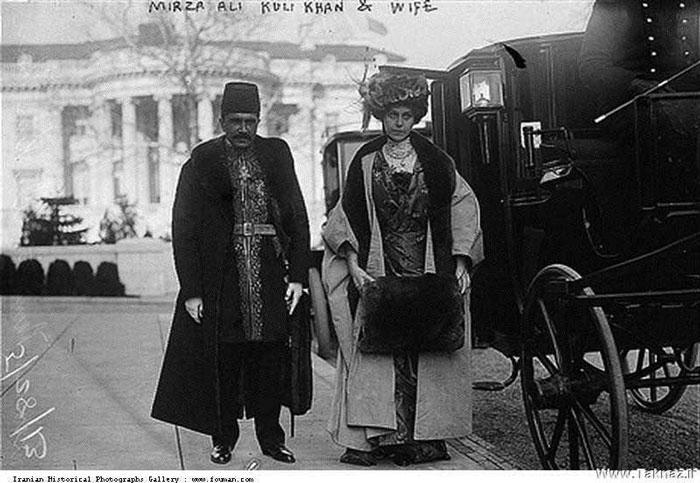 میرزا علیقلی خان و همسرش