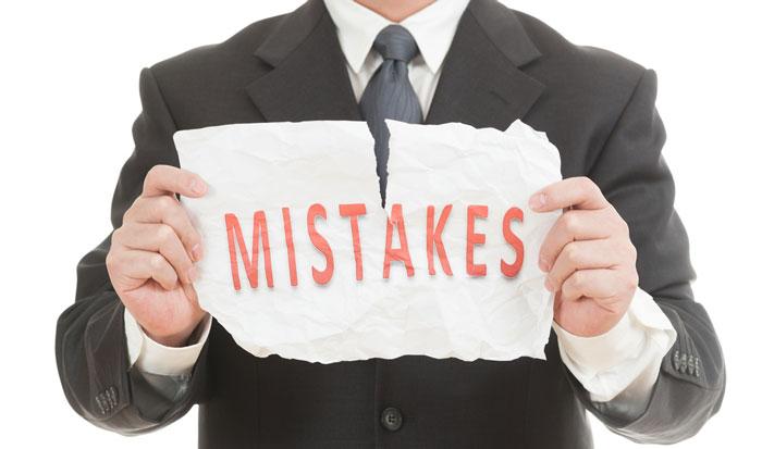 اشتباهات مدیران