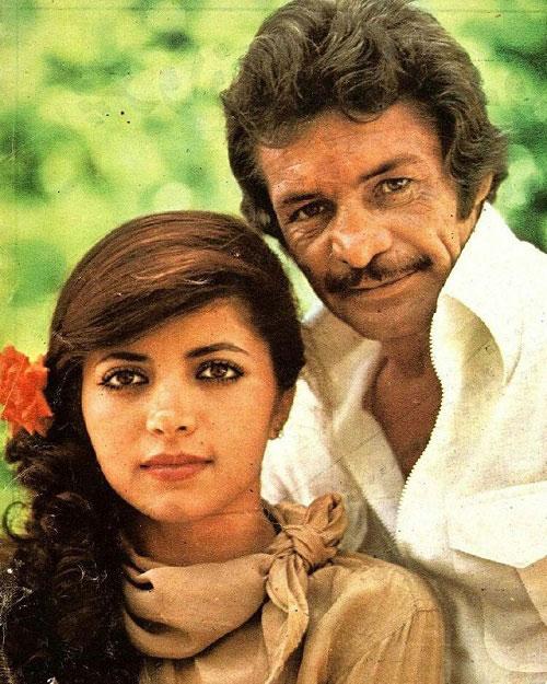 رضا بیک ایمانوردی و همسرش