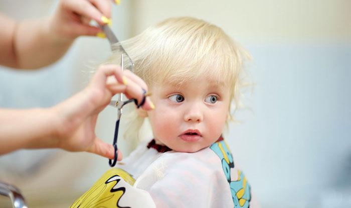 ترس کودک از آرایشگاه