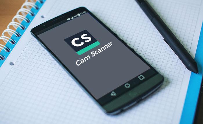 برنامه camscanner