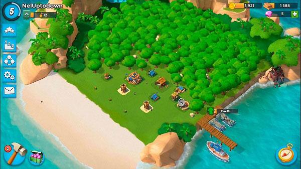بازی boom-beach