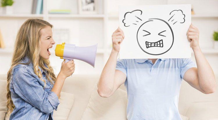 دعوا در زندگی زناشویی