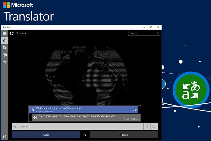 برنامه microsoft translator
