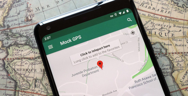 برنامه GPS Location Tracking