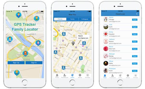برنامه GPS Phone Tracker