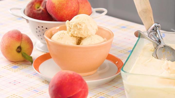 بستنی هلو