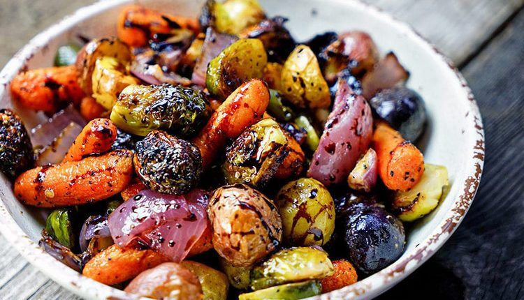 سبزیجات گریل