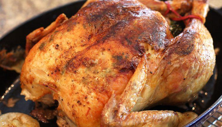 مرغ شکمپر