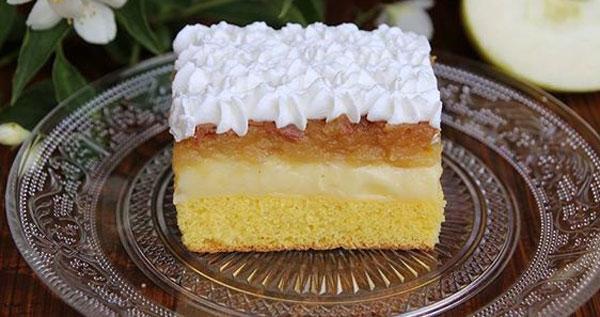 پای کیک سیب رومانیایی