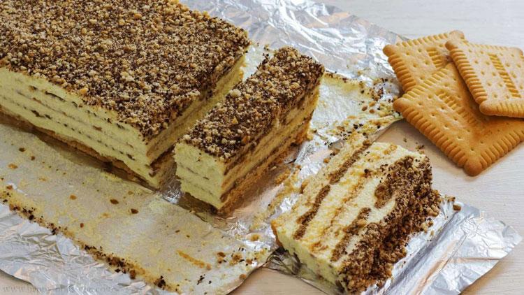 کیک موزاییکی