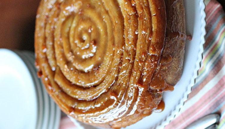 کیک حلزونی