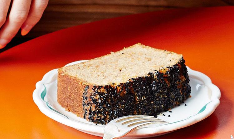 کیک ارده و کنجد