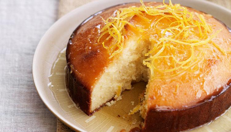 کیک گلاب