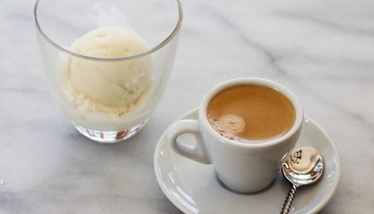 بستنی اسپرسو