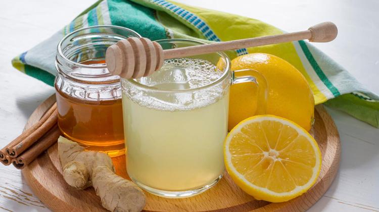 نوشیدنی زنجبیل و لیمو