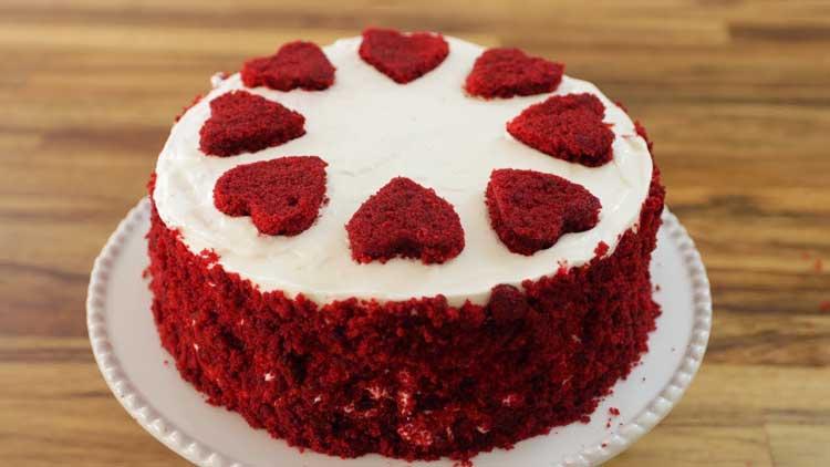 کیک ردولووت