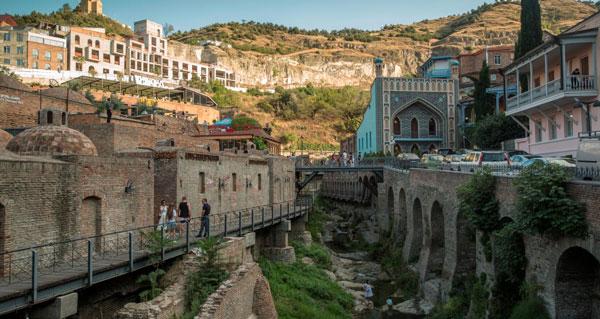 گرجستان بهترین کشورها جهت مسافرت