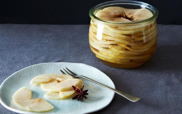 ترشی سیب