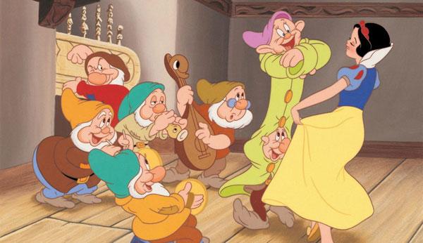 سپیدبرفی و هفت کوتوله بهترین انیمیشنهای جهان