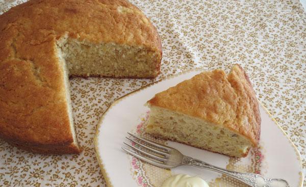 کیک موزی تانیا