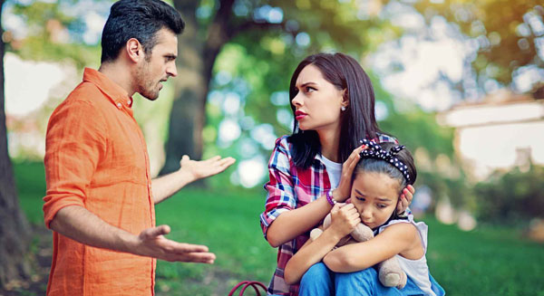 تاثیرات روحی مشاجره والدین بر کودکان