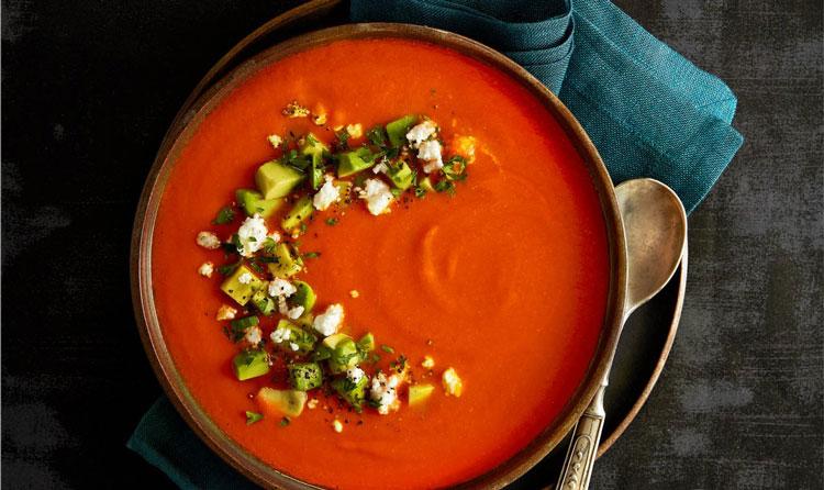 سوپ فلفل قرمز