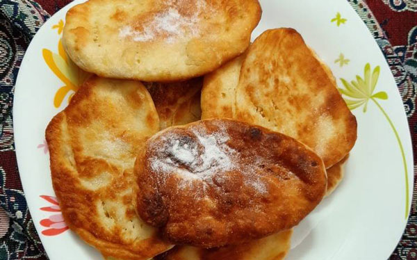 نون تابهای یک نان خانگی خوشمزه