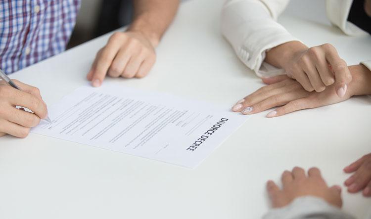مدارک لازم جهت درخواست طلاق توافقی