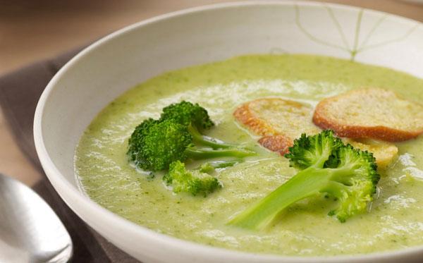 سوپ بروکلی سوپ مناسب افطار
