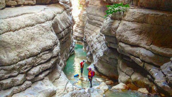 دره چاکرود سرزمین صخره نوردان