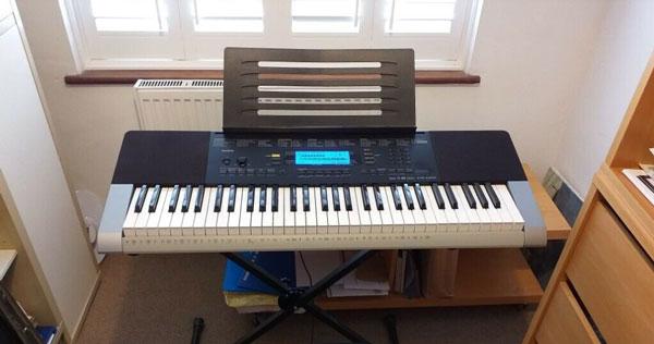 پیانو casio keyboard ctk 4400