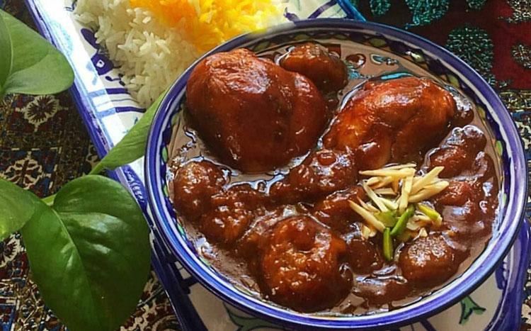 خورش محلی ایرانی