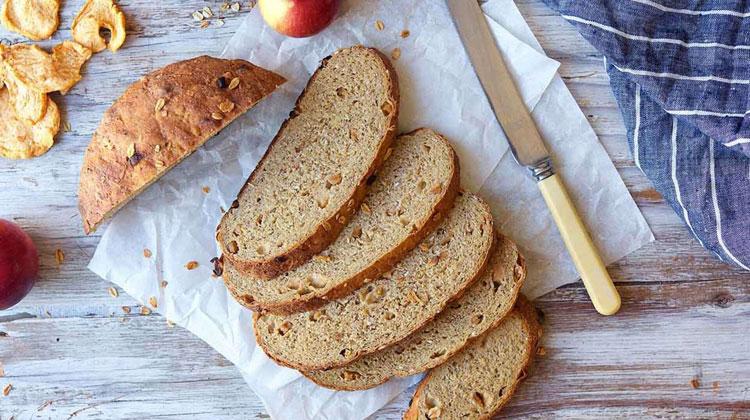 نان رژیمی خانگی