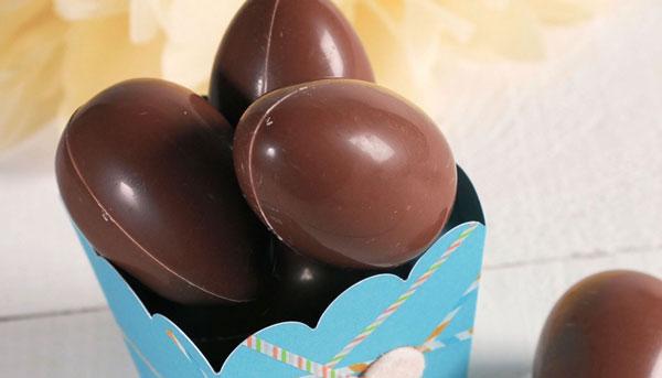 شکلات مغزدار تخم مرغی