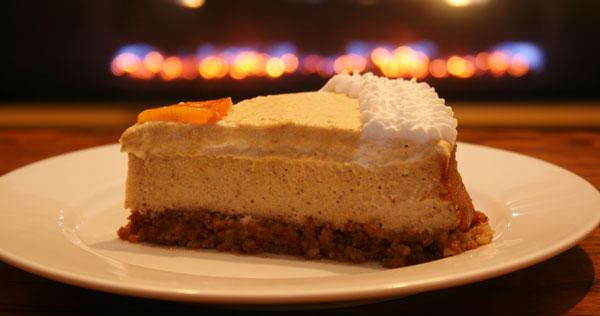 چیز کیک یخچالی خرمالو